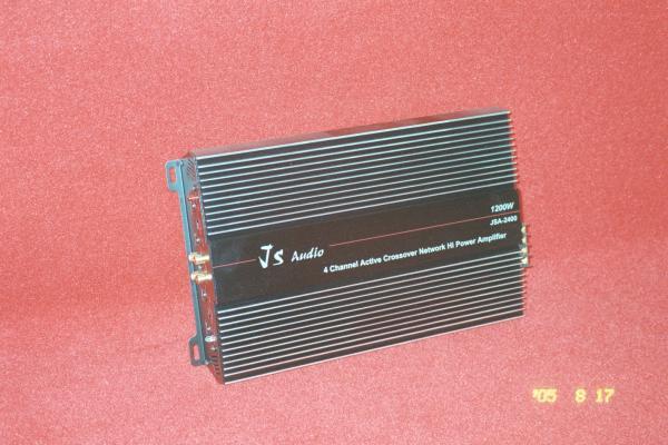 200W4聲道擴大機加上前後6.5吋喇叭