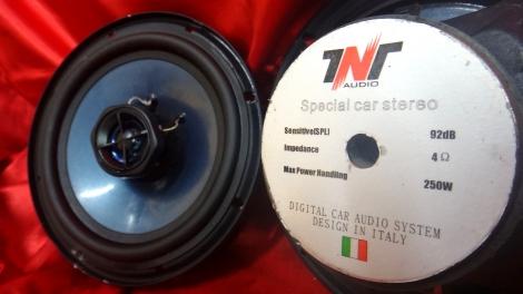 義大利TNT 六吋半 二音同軸喇叭