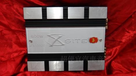 X-SITE 二聲道擴大機
