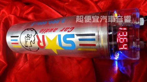 美國STE 200法拉 爆閃LED電壓表電容