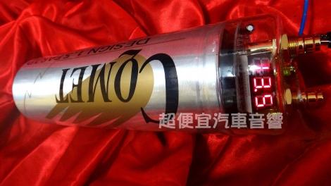 台灣CQMET 1.5法拉 爆閃LED電壓表
