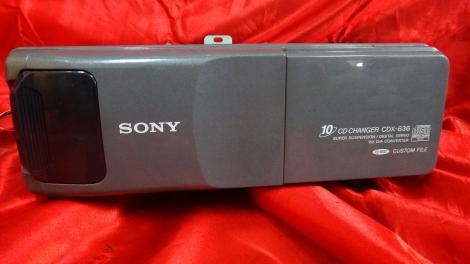 日本SONY CD換片箱