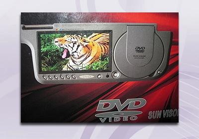遮陽板型DVD7吋螢幕