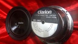 日本clarion 六吋半 中音喇叭