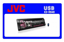JVC KD-R646 汽車音響
