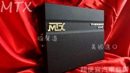 美國MTX 四聲道擴大器