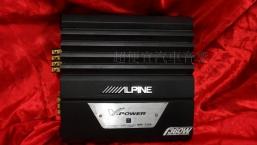ALPINE 四聲道擴大機 九成新 4800