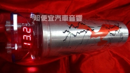 美國Bossmeck 1.6法拉 爆閃LED電壓表