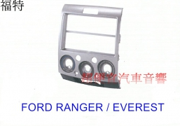 FORD RANGER_EVEREST 主機面板框